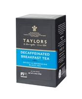 Taylors of Harrogate Decaffeinated Breakfast - 50 Tea Bags | Brands of Britain