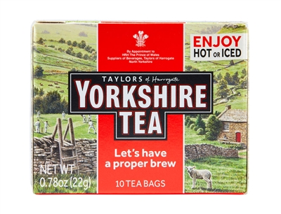 Yorkshire Red - 10 Tea Bags | Brands of Britain | English Tea