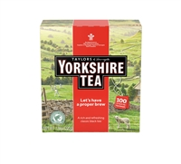 Yorkshire Tea - 100ct String & Tag Tea Bags