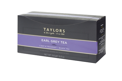 Taylors of Harrogate Earl Grey  - 100 Tea Bags | Brands of Britain