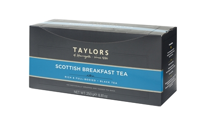 Taylors of Harrogate Scottish Breakfast  - 100 Tea Bags | Brands of Britain