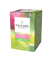 Taylors Lychee & Lime Green 3x20