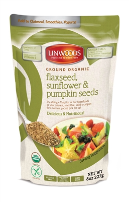 Linwoods Organic Flaxseed, Sunflower & Pumpkin seeds (8oz)