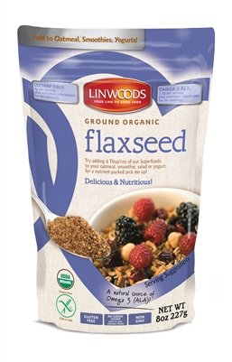 Linwoods Ground Organic Flaxseed (8oz) | Brands of Britain
