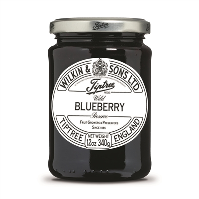 Shop Tiptree Wild Blueberry Preserve - 12oz jar | Brands of Britain