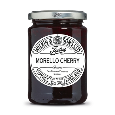 Shop Tiptree Morello Cherry Preserve - 12oz jar | Brands of Britain