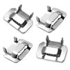 "Type 304 1/2"" Stainless Steel Strapping Buckles"