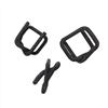 "3/4"" Phos Coated Notched HD Wire Buckles 100/bag"