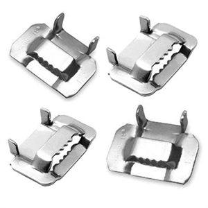"Type 201 5/8"" Stainless Steel Strapping Buckles"