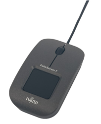 The Fujitsu PalmSecure F-Pro Mouse is a highly secure biometric solution through palm vein authentication.