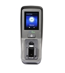 The ZKAccess FV350-ID multi-biometric reader can store 1000 vein and 1000 fingerprints and identify in less than 2 seconds.