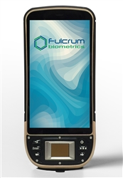 The bioCAPTUS R50 Time Clock mobile computer will clock employees in and out with biometric verification on-site.
