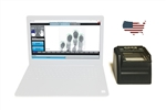 FbF LiveScan Federal Applicant Bundle with Suprema RealScan G-10