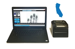 FbF LiveScan California Applicant System with Suprema RealScan G-10