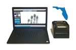 FbF LiveScan Florida (FDLE) Applicant System with Suprema RealScan G-10