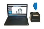 FbF LiveScan Illinois Applicant System with Suprema RealScan G-10
