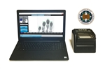 FbF LiveScan OPM Applicant System with Suprema RealScan G-10