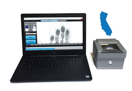The FbF LiveScan Florida Applicant System is an all-in-one set-up to begin capturing and transmitting live scan fingerprints.