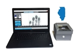 Streamline applicant background checks with the FbF LiveScan Illinois Applicant System with Green Bit Dactyscan84c.
