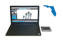 FbF LiveScan Florida (FDLE) Applicant System with Integrated Biometrics FIVE-0