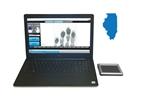 FbF LiveScan Illinois Applicant System with Integrated Biometrics FIVE-0