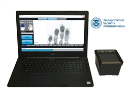 Submit fingerprints to the Transportation Security Clearinghouse easily using Fulcrum's live scan system.