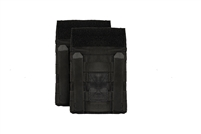 CRYE PRECISION JPC SIDE PLATE POUCH SET - BLACK