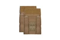 CRYE PRECISION JPC SIDE PLATE POUCH SET - COYOTE BROWN