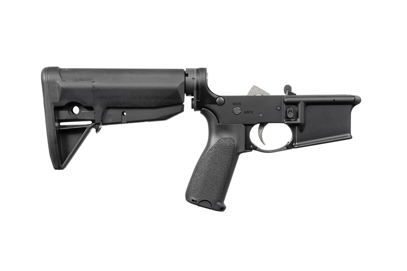BCM LOWER RECEIVER GROUP W/ GUNFIGHTER STOCK