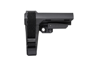 SB TACTICAL SBA3 PISTOL STABILIZING BRACE MIL SPEC BUFFER - BLACK