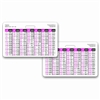 Pregnancy Wheel Chart Horizontal Badge Card