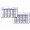 Weight Conversion General Range Horizontal Badge Card