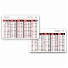 Weight Conversion Pediatric Range Horizontal Badge Card
