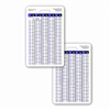 Weight Conversion Adult Range Vertical Badge Card