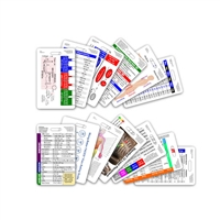Complete Set for Nurse CNA MA Vertical Badge Cards - 13 cards