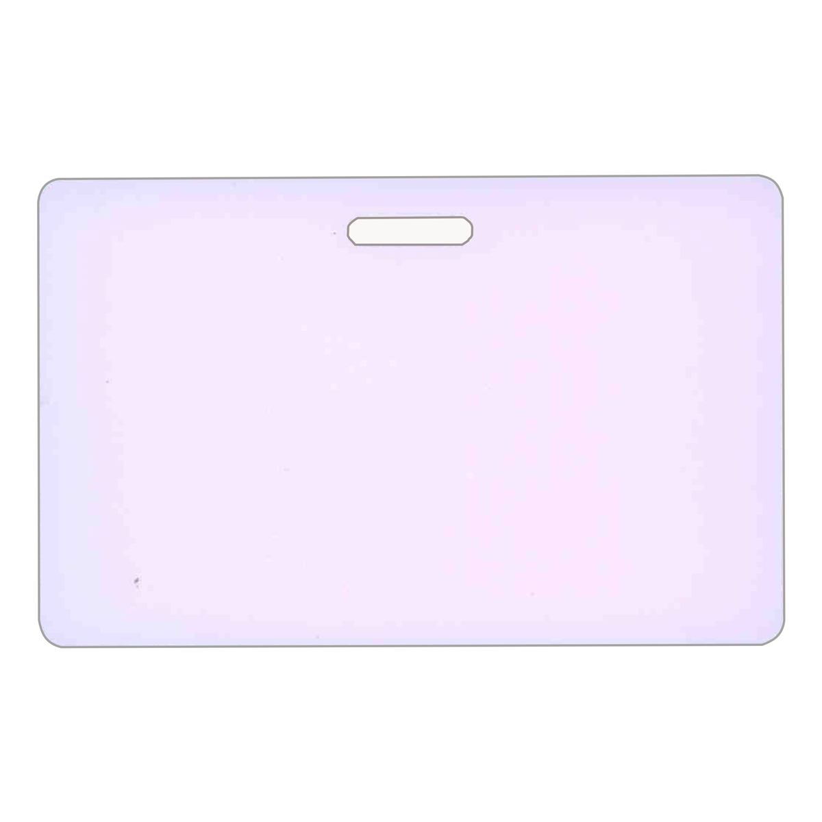 blank plastic make your own horizontal badge card - Blank Plastic Cards