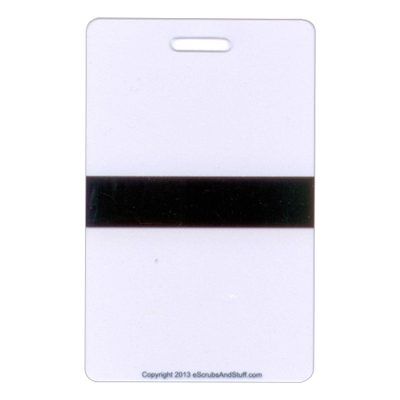 Mourning Band Vertical Badge Card