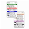Adult Vital Signs Vertical Badge Card