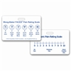 Wong-Baker FACES® Pain Rating Scale Horizontal w/ Numeric Rating Scale Badge Card