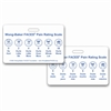 Wong-Baker FACES® Pain Rating Scale Horizontal w/ Spanish Rating Scale Badge Card