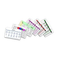 Mini Pediatric Set Horizontal Badge Cards - 6 cards
