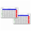 Neonatal Weight Conversion Horizontal Badge Card