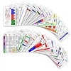 Comprehensive Set Vertical Badge Cards - 30 cards