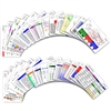 Comprehensive Set Horizontal Badge Cards - 30 cards