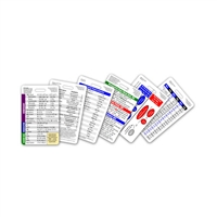 Mini Nurse Set Vertical Badge Cards - 6 cards