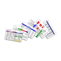 Mini Nurse Set Horizontal Badge Cards - 6 cards