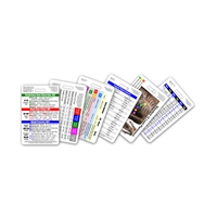 Mini CNA / MA / Tech Set Vertical Badge Cards - 6 cards