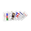 Mini Paramedic Set Vertical Badge Cards - 6 cards