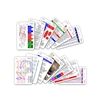 Complete Set for EMS Paramedic EMT Vertical Badge Cards - 13 cards