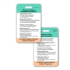 OT PT Consult Guidelines Vertical Badge Card